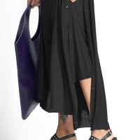 Elegant Cape pants with buttons A90517