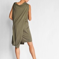 Elegant Sleeveless Midi Dress A90523