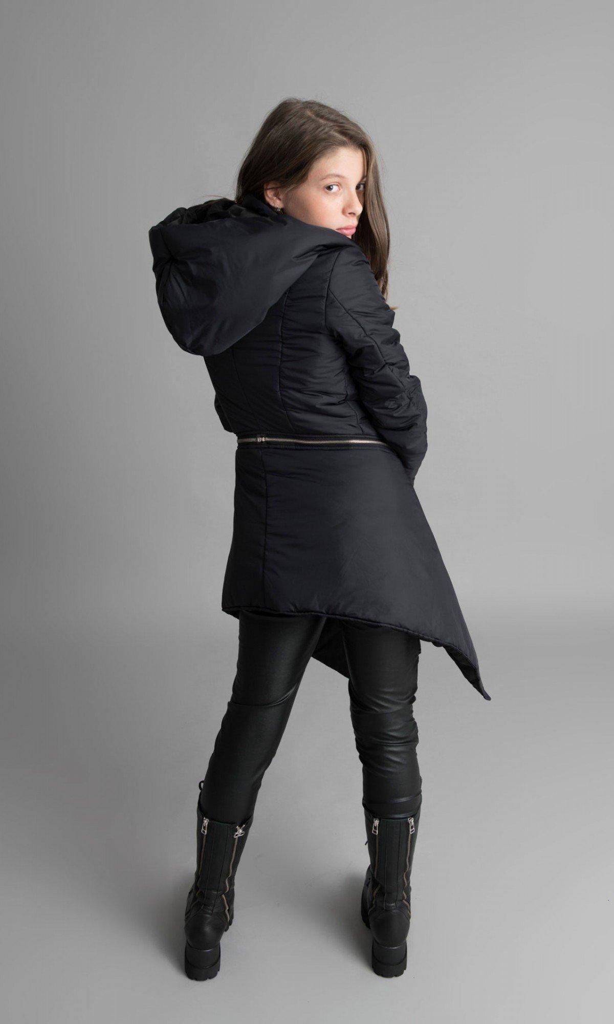 Winter Warm Asymmetric  Coat A07149C