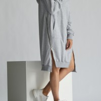 Extra Long Hoodie Dress A90499