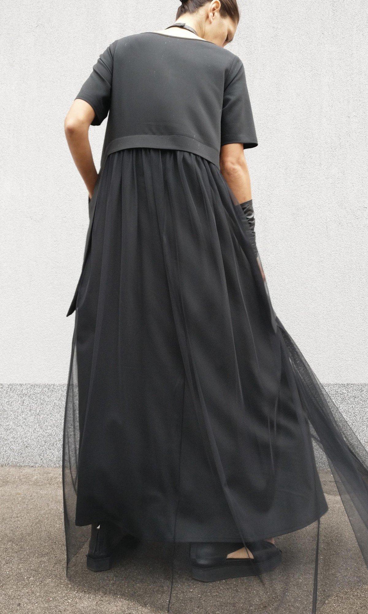 Maxi Extravagant Tulle Dress A90495