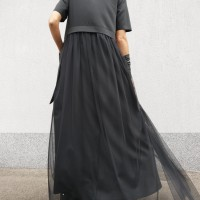 Maxi Extravagant Tulle Dress A90495
