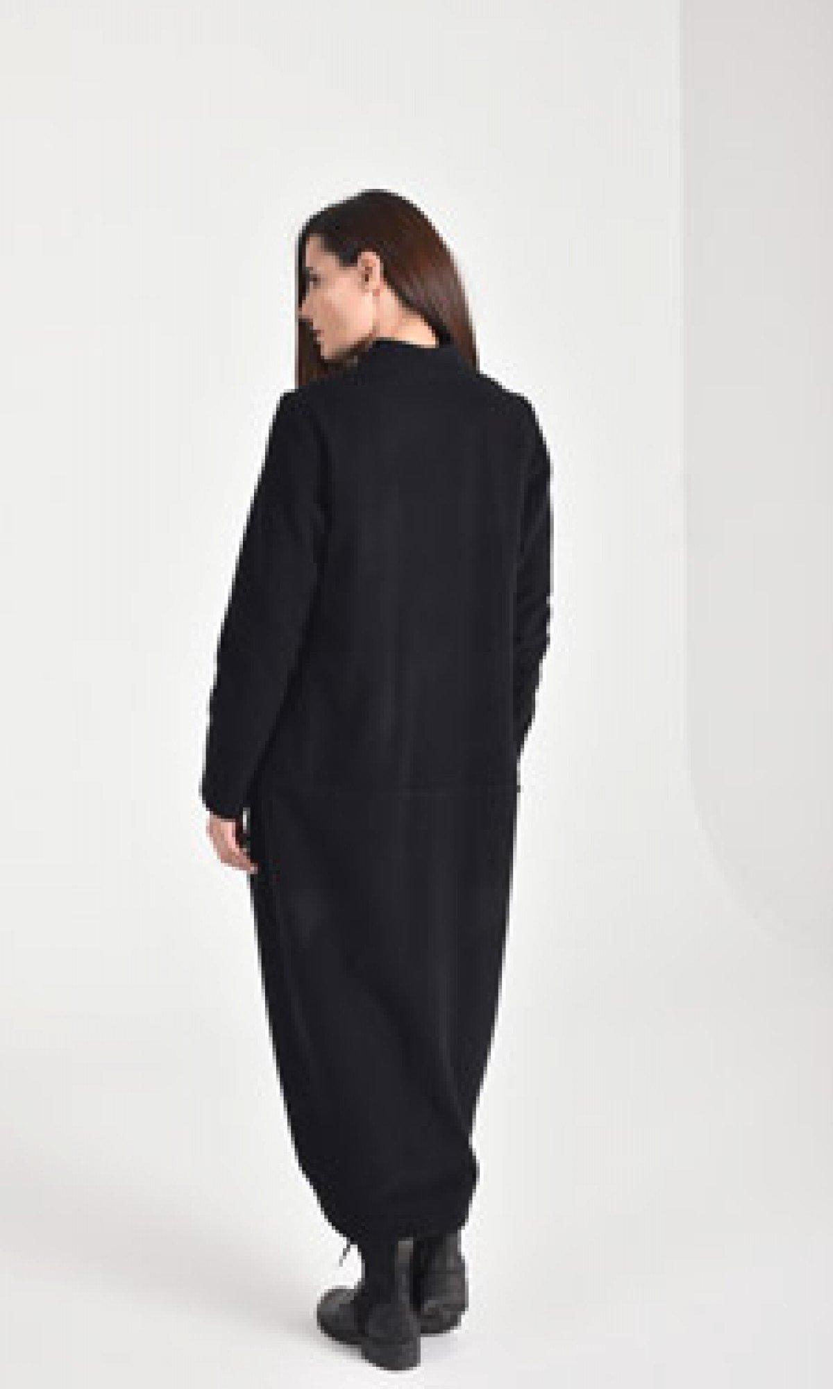 Extravagant Asymmetric Coat A90336