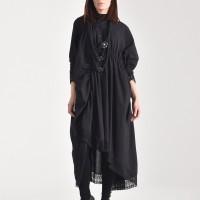 Elegant Maxi Cotton Shirt A90355