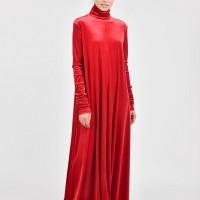 Royal Maxi Velvet Dress A03498