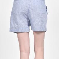 Linen Drop Crotch Shorts A90494
