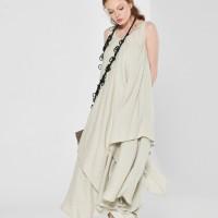 Elegant Summer Linen Dress A03393