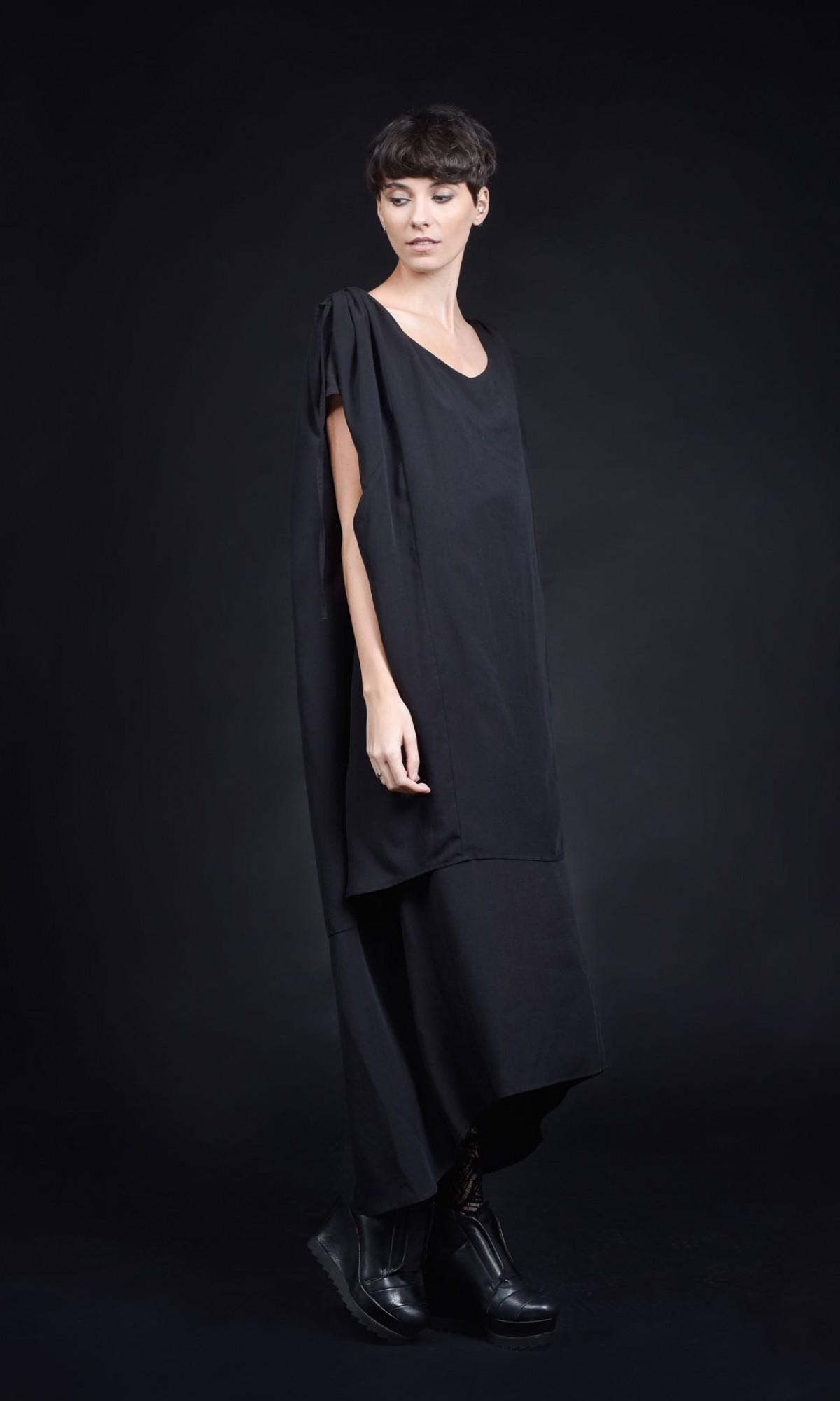 Elegant Maxi Two Layers Dress A90424
