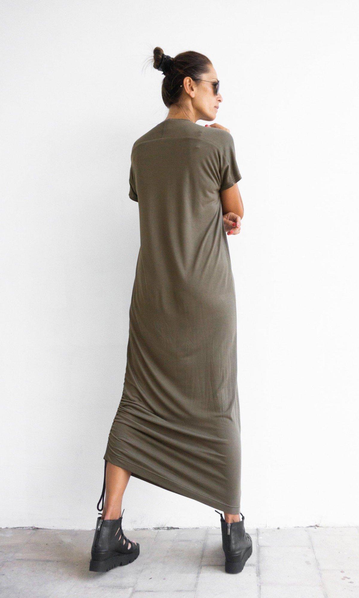 Elegant Short Sleeve Summer Dress A90527