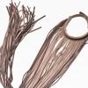 Fringe Leather Necklace A16192