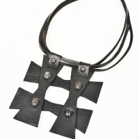 Short Cross Shaped Necklace A16756