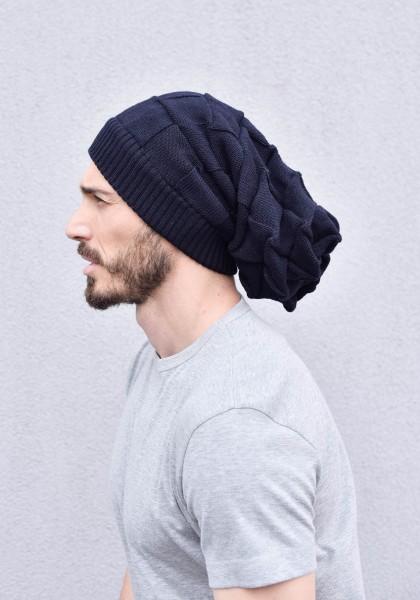 Slouchy Warm Knit Hat A90372M