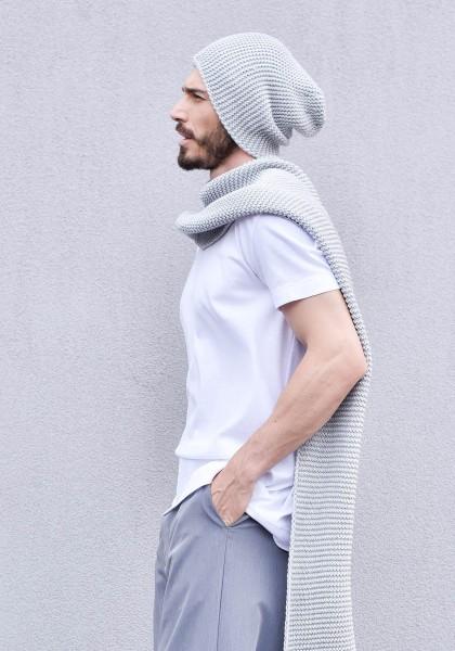 Slouchy Warm Knit Hat A24365M