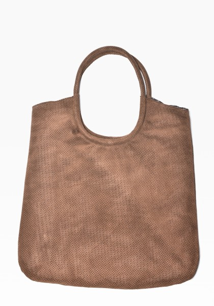 Suede Boho Brown Bag A14228