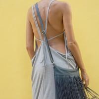 Bags - Fringe Genuine Leather Shoulder Bag A14424
