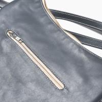 Fringe Genuine Leather Shoulder Bag A14424