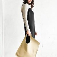 Large Extravagant Genuine Leather Sahara bag A14176