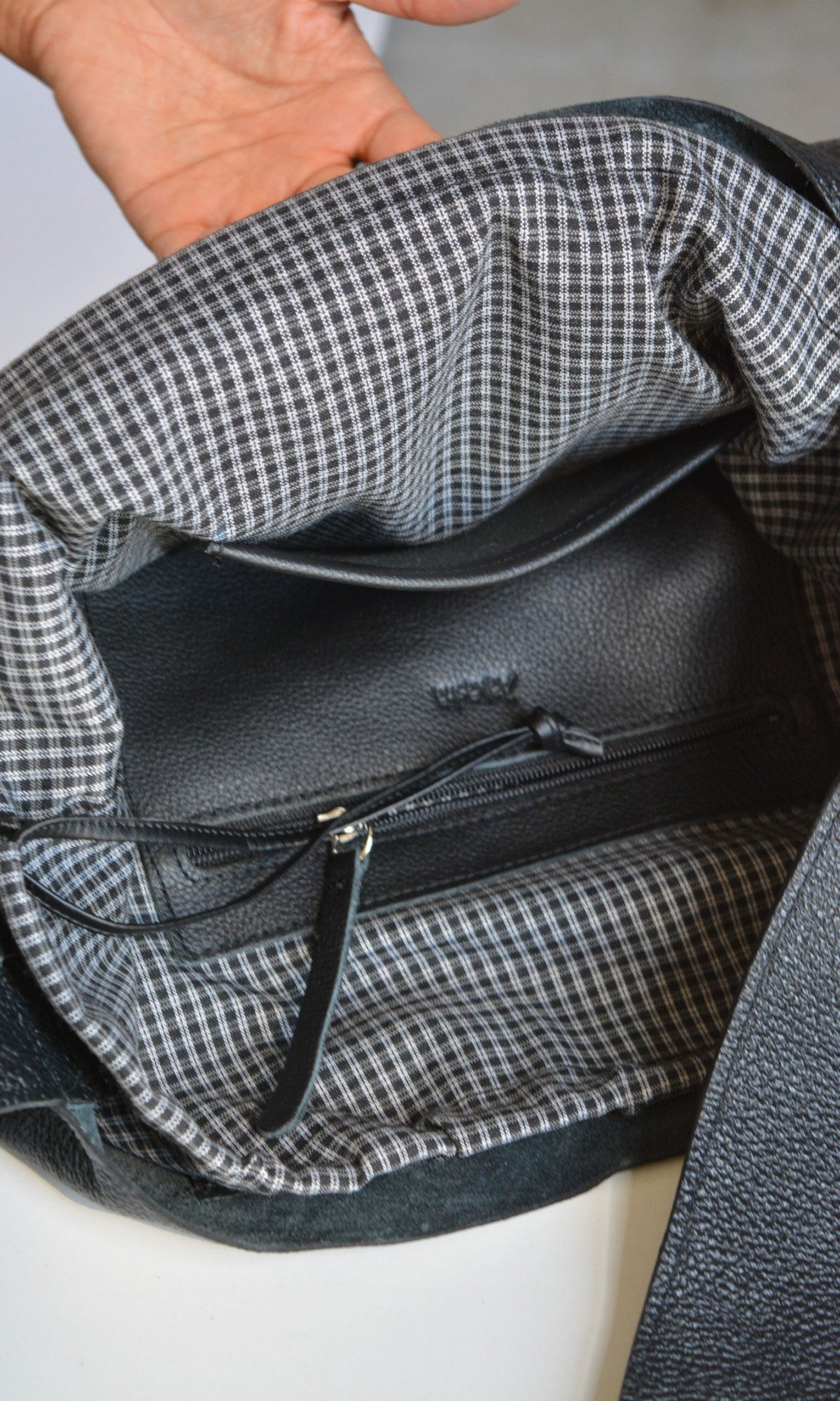 Large Extravagant Genuine Leather Bag A14724