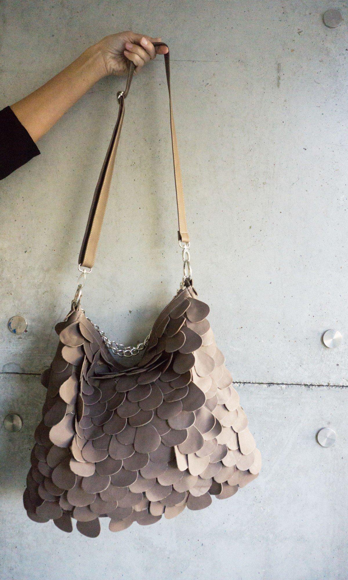 Genuine Leather Maxi Tote Bag A14830