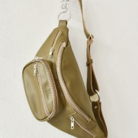 Genuine leather Bum Bag / Fanny Bag A90285