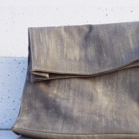 Sales - Genuine Leather Clutch Hand Bag A14255