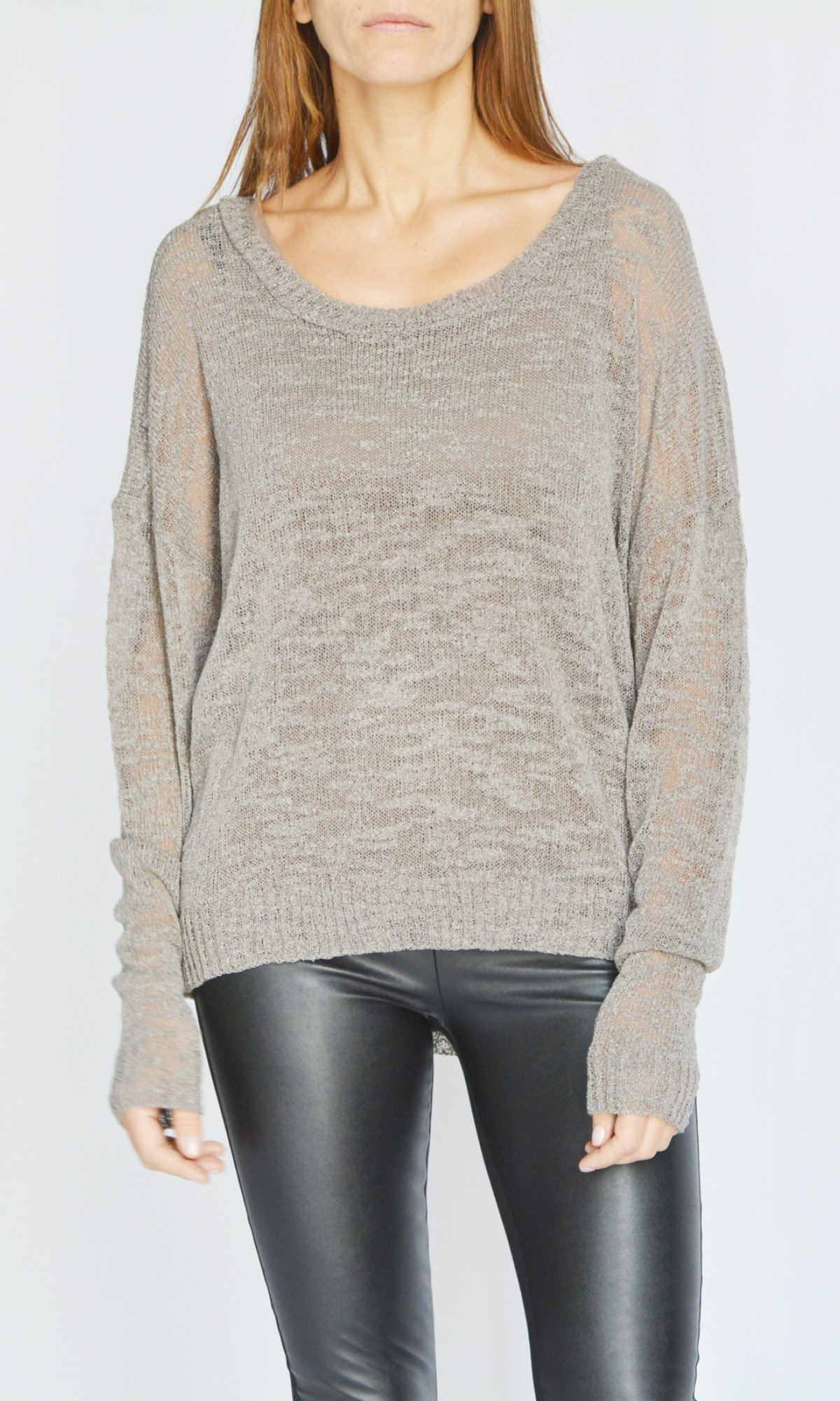 Long Sleeve Fine Knitting Sweater A90583