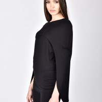 Black Cape Top A12479