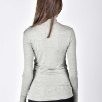 Sexy Cotton Turtle neck top A90393