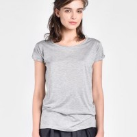 Plain short sleeve t-shirt A22685