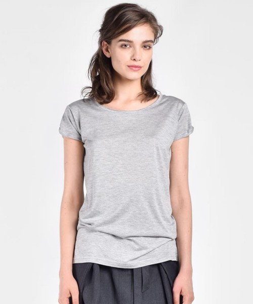 Plain short sleeve t-shirt A90079