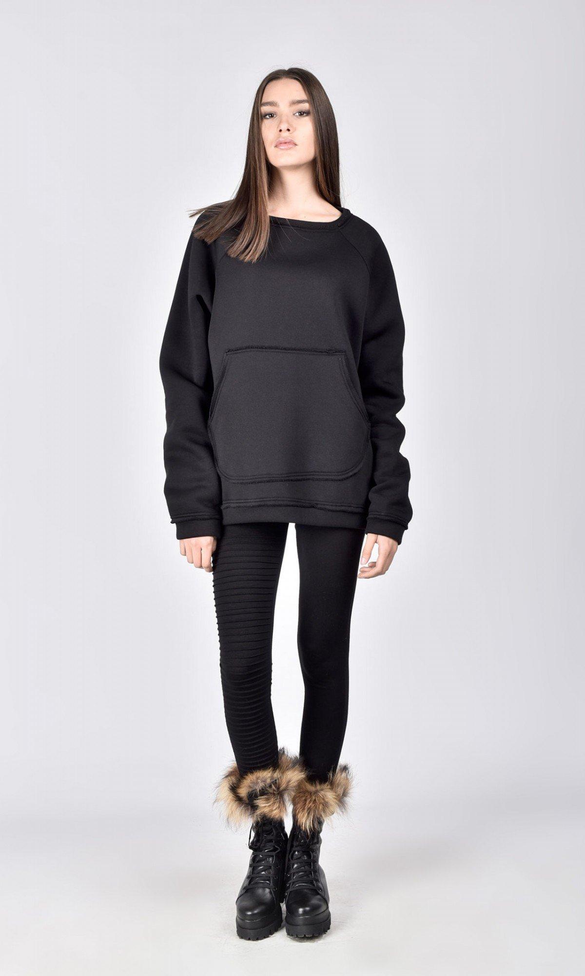 Front Pocket Warm Sweatshirt