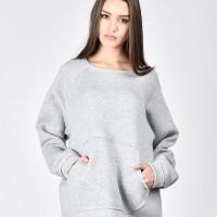 Front Pocket Warm Sweatshirt A90164