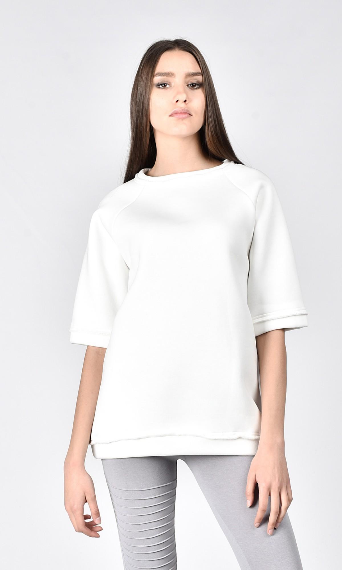 Mid Sleeve Warm Sweatshirt A90217