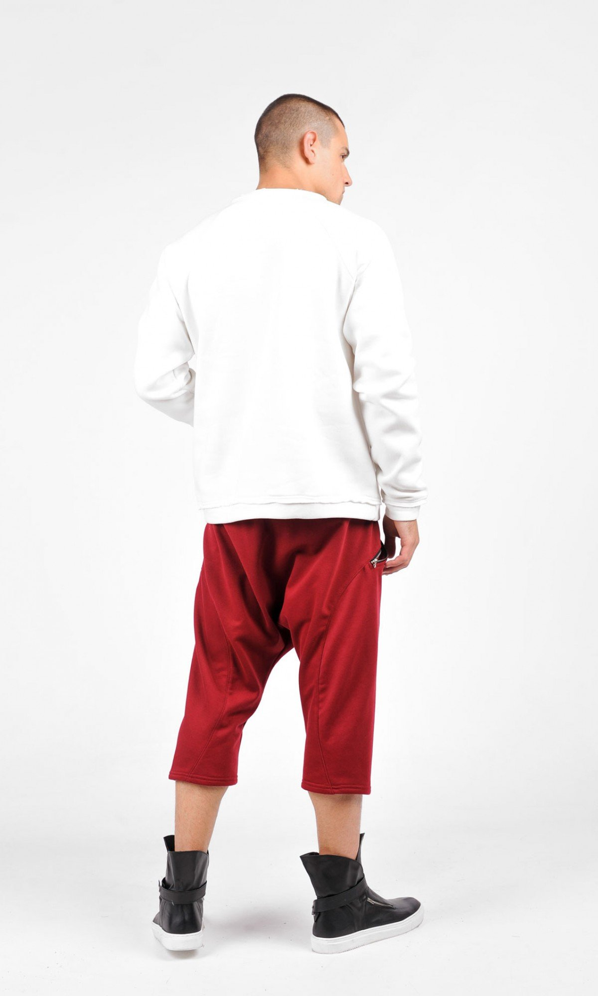 Front Pocket Warm Sweatshirt A12770M