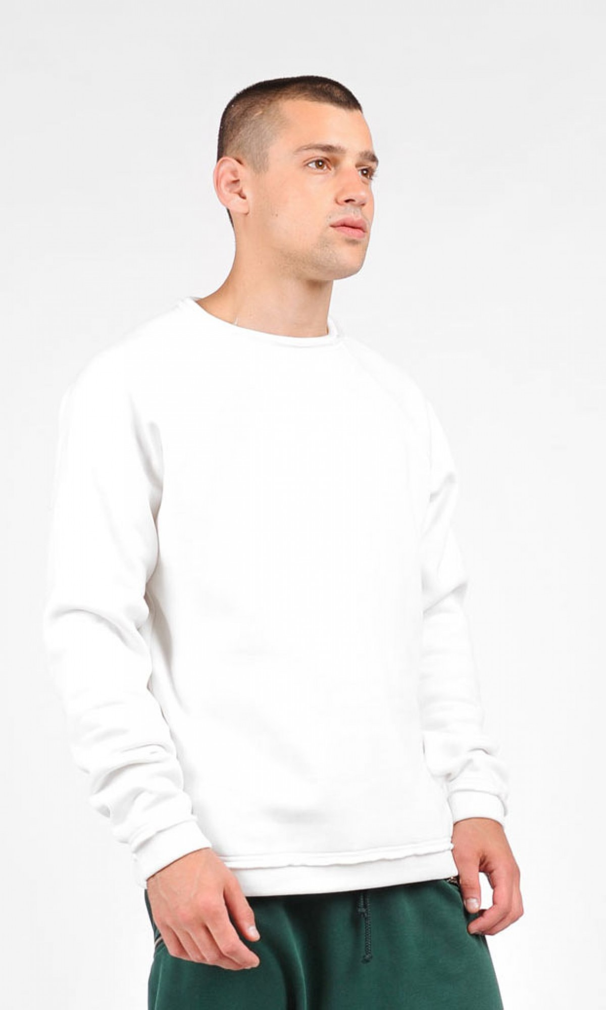 Cotton Fleece Sweatshirt A90165M