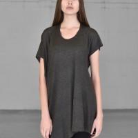 Casual Short Sleeve Tencel Top A90175