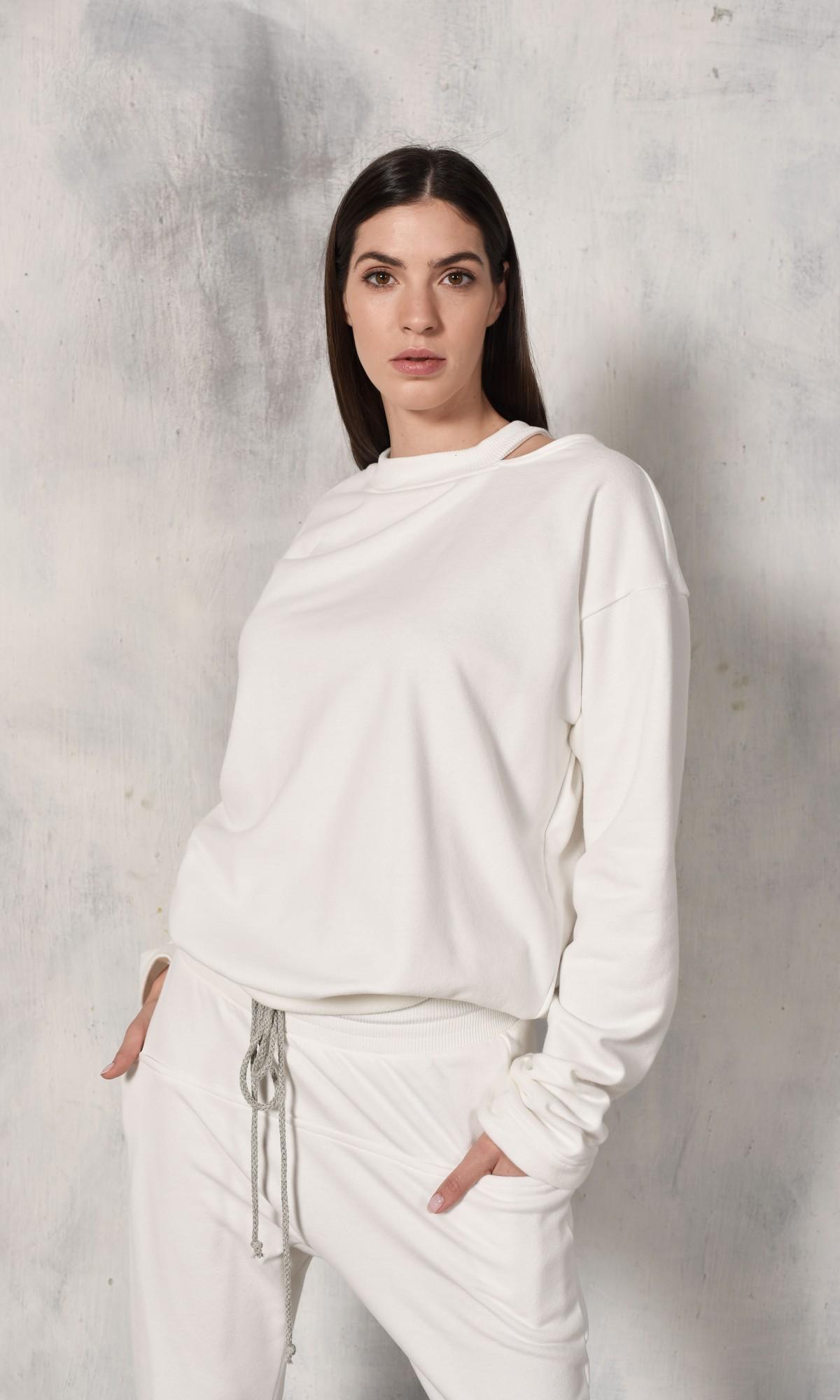 Elegant Open Shoulder Blouse A90260