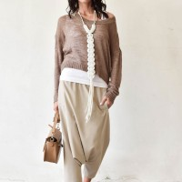 Long Sleeve Fine Knitting Sweater A90308