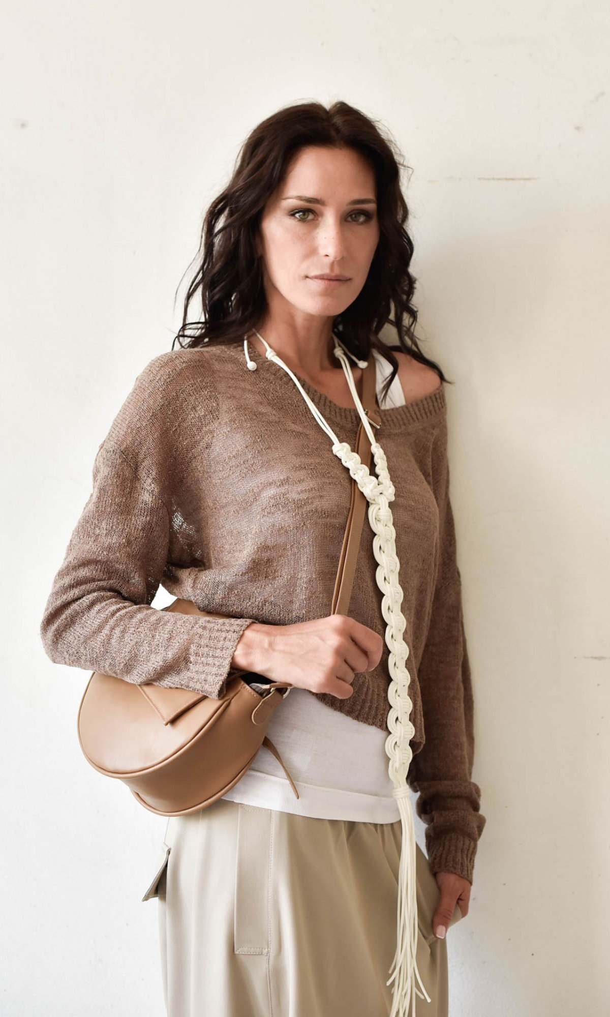 Long Sleeve Fine Knitting Sweater A12832