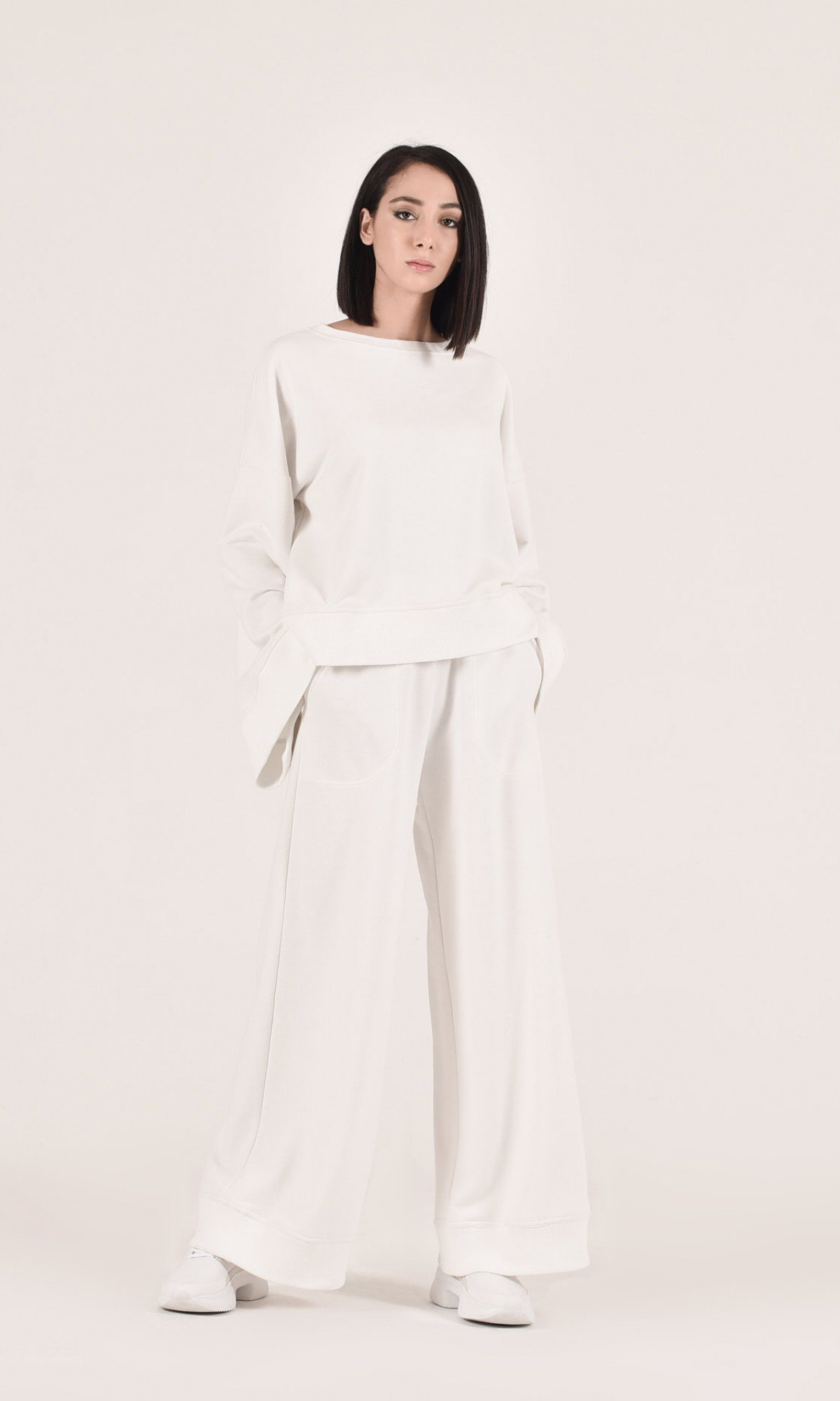 Elegant high waist pants A05905