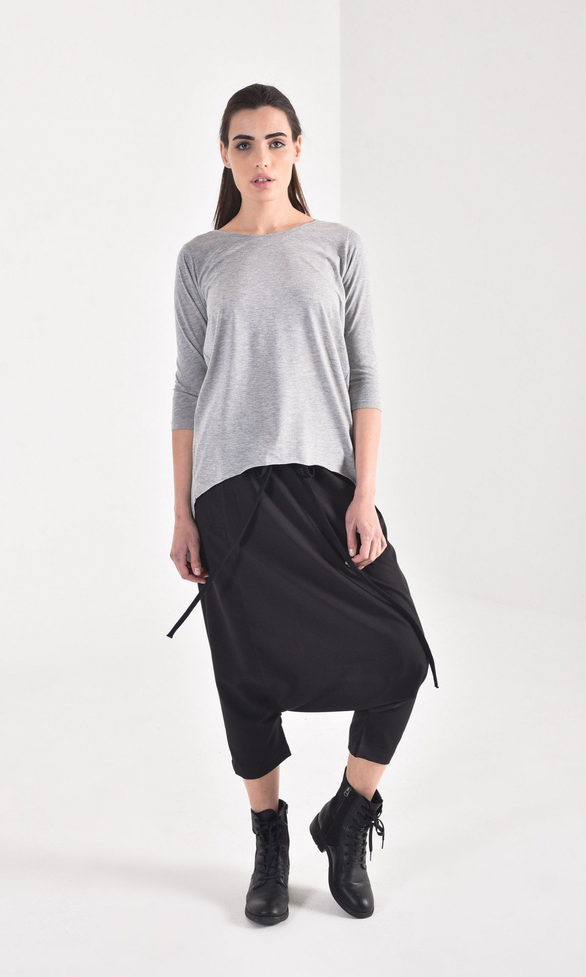 Elegant Mid Sleeve Casual Blouse A90563