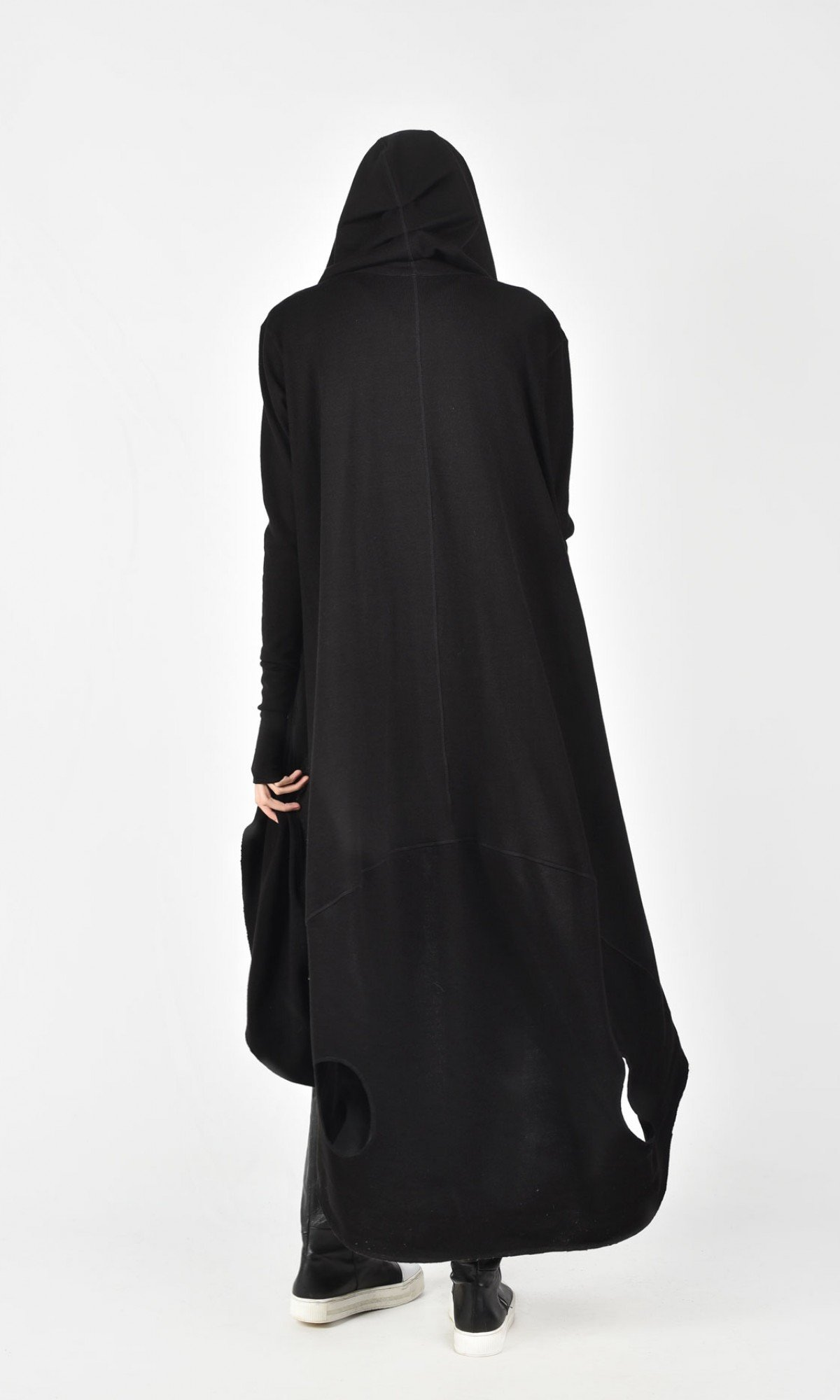 Oversize Knit Vest with Leg Оpenings A06350