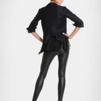 Extravagant Asymmetrical Buttoned Blazer A10230