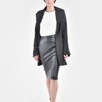 Black Stylish Blazer A10324