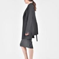 Black Stylish Blazer A10324