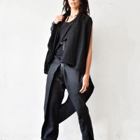 Asymmetric Multi-way Cardigan A06755
