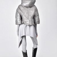 Short Extra Warm Hooded Coat A07578