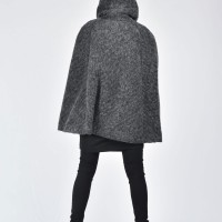 Extravagant Winter Cape Coat A07573