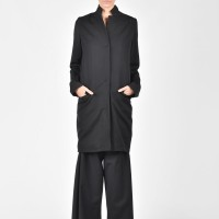 Black Autumn Trench A10153