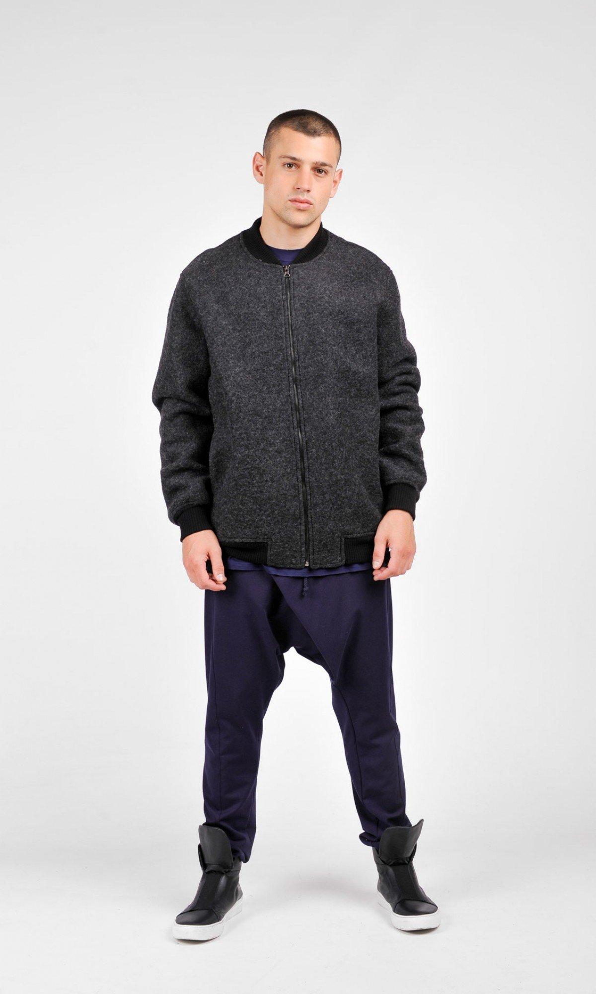 Dark Grey Coat A20563M
